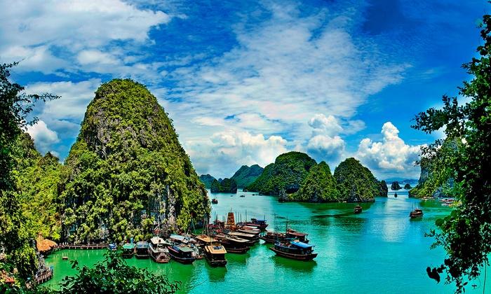 De schoonheid van Vietnam